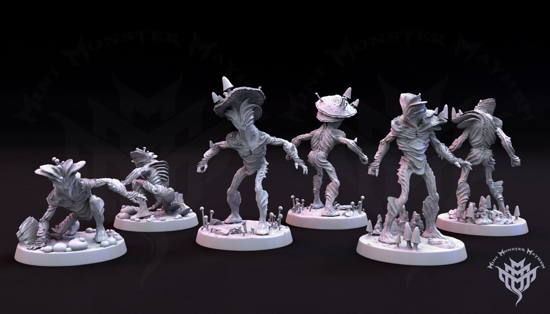 Mini Monster Mayhem 3D printing
