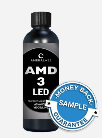 AmeraLabs AMD-3 LED AMD3 advanced modelling 3D printing resin sample