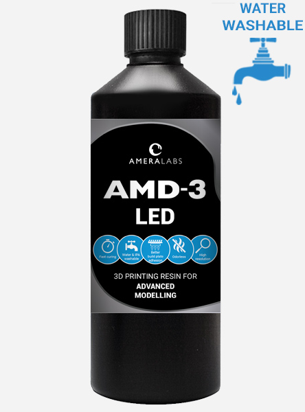 AMD-3 LED advanced modelling 3D printing resin thumbnail