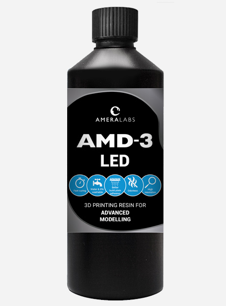 AmeraLabs AMD-3 LED AMD3 advanced modelling 3D printing resin