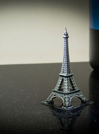 AmeraLabs AMD-3 LED resin at 50 µm layer height. Model: Eiffel Tower by Pranav Panchal (http://www.thingiverse.com/thing:2795935). Printed by AmeraLabs.