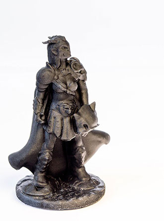 AmeraLabs AMD-3 LED resin 3D printed gloomhaven guard figurine