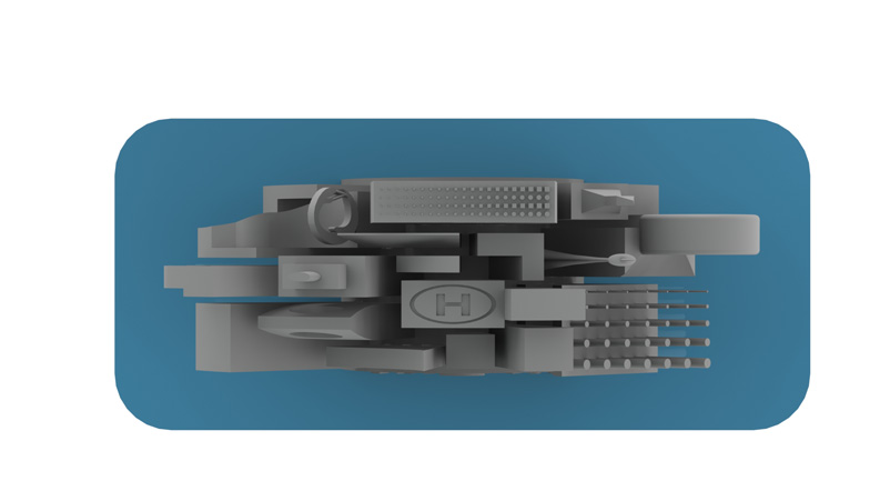 AmeraLabs SLA 3D printing Attachment Layer size should be widest out of all Layers