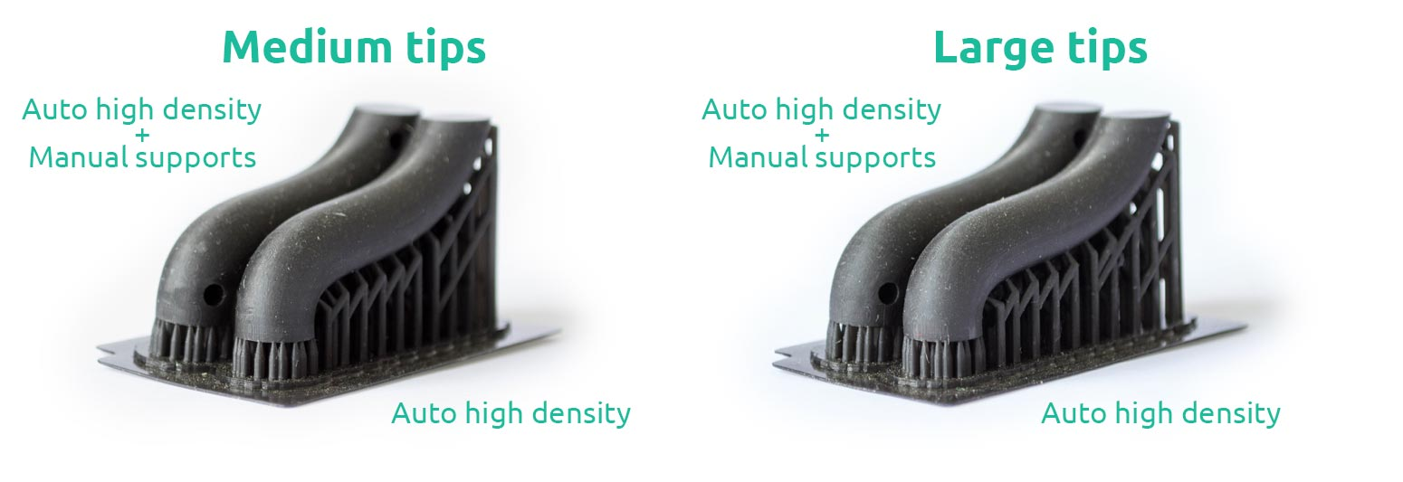 AmeraLabs key principles of 3D printing supports that work experiment tube medium large tips