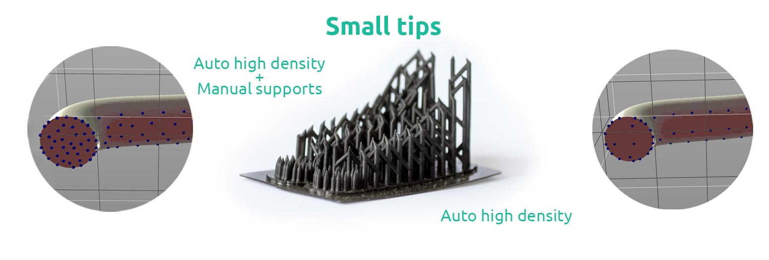 AmeraLabs key principles of 3D printing supports that work experiment tube small tips