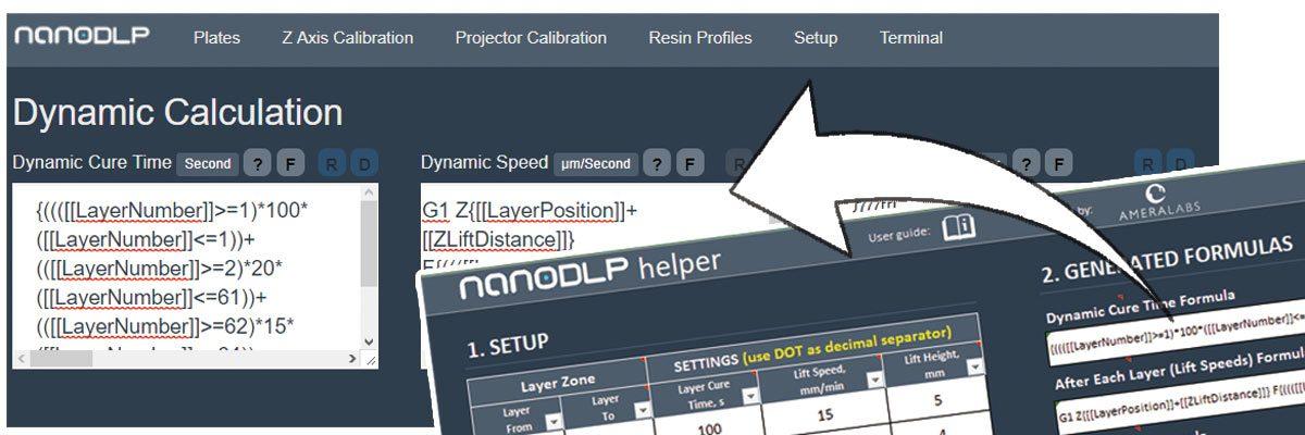 AmeraLabs nanoDLP helper