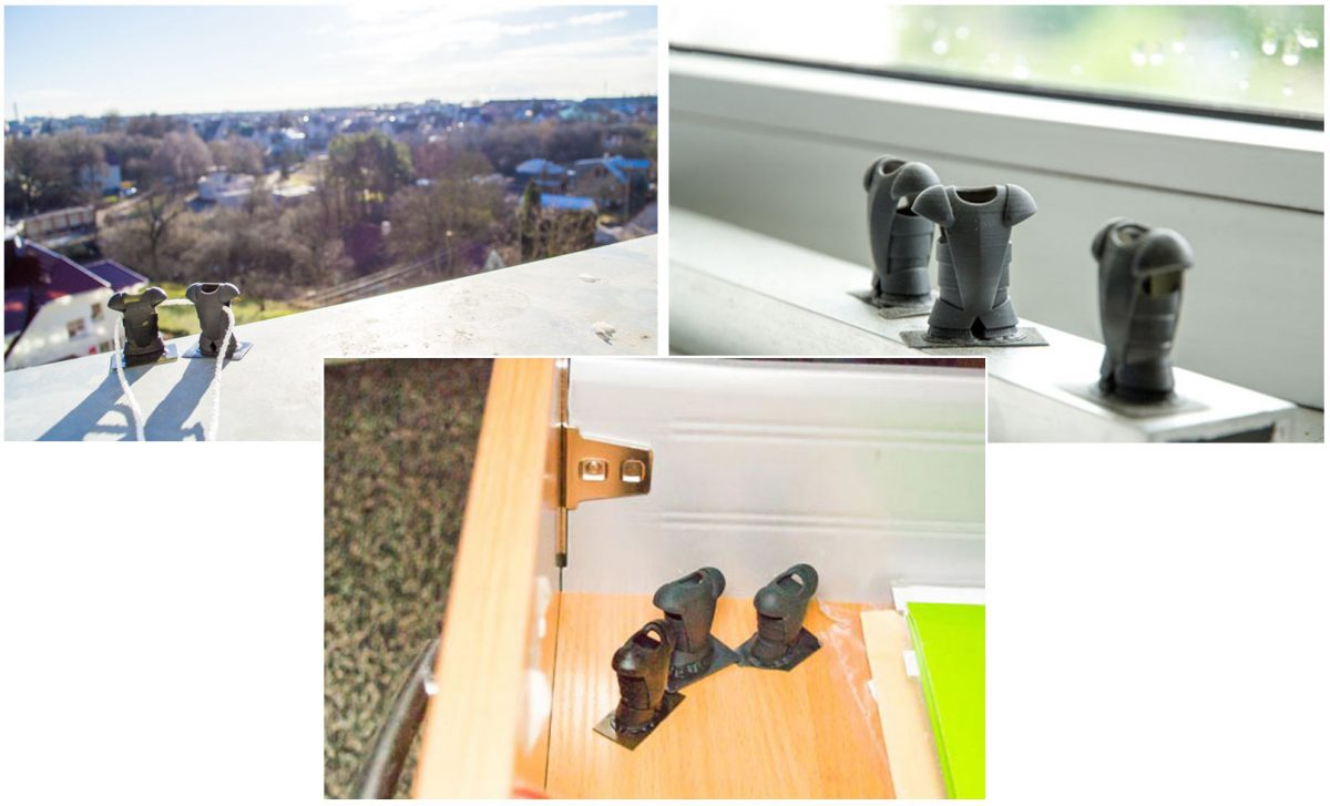 3d printing for outdoor use experiment environments