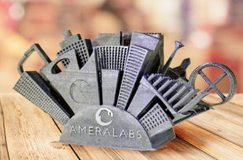 AmeraLabs Town 3D printer calibration part test