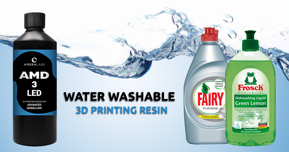 IPA-FREE way to clean water washable resin | AmeraLabs