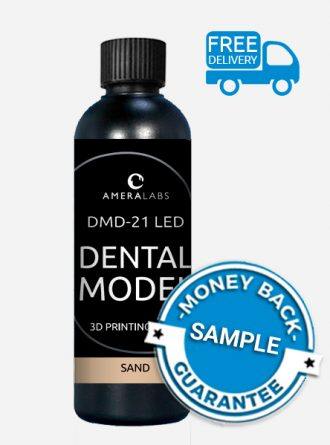 DMD-21 LED dental model 3D printing resin sand 250ml SAMPLE thumbnail