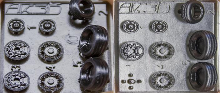 Custom 3D printing resin